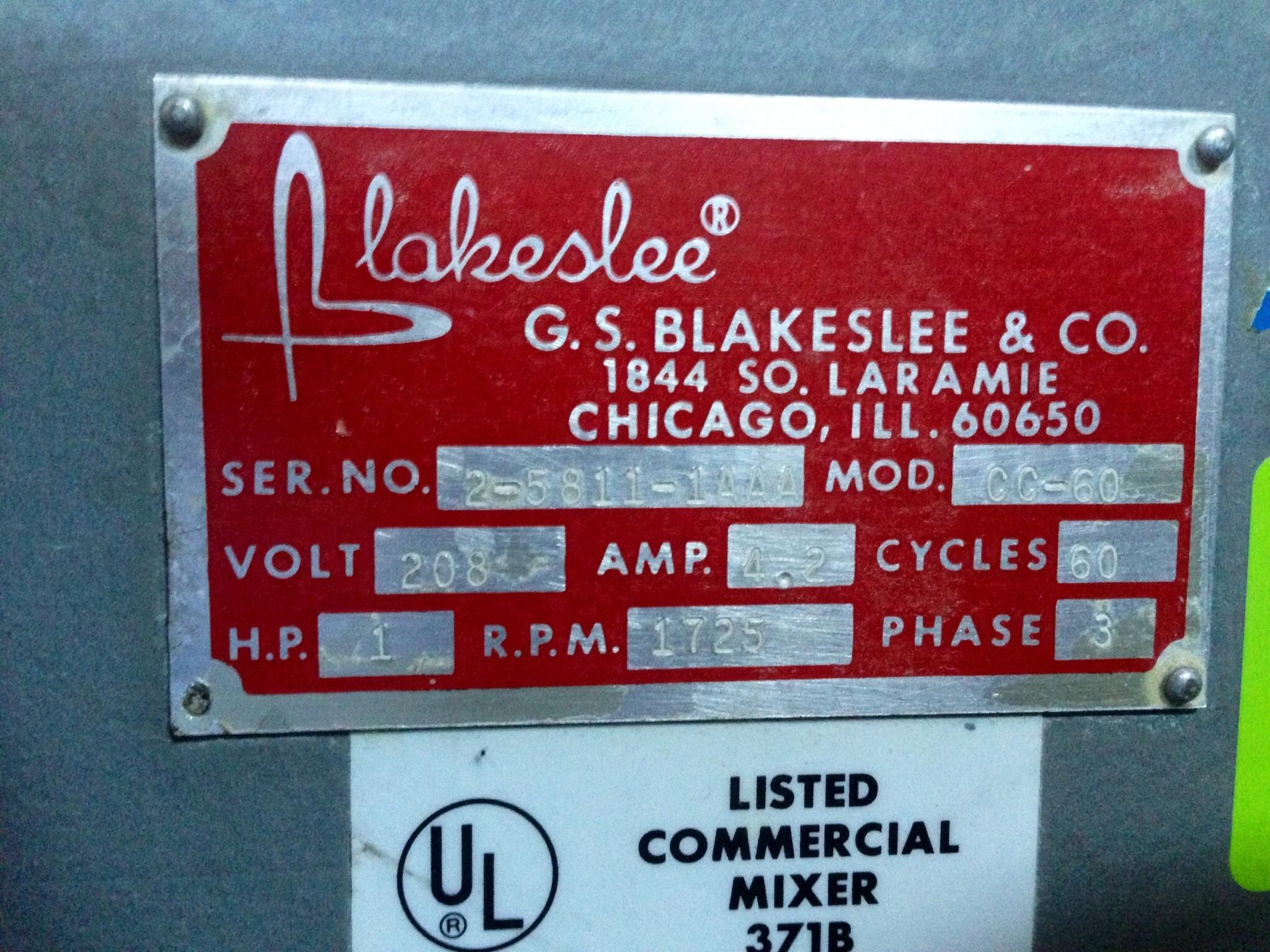 Blakeslee Mixer 371b