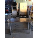 "STAINLESS STEEL TABLE 49""x24""x35"" $125"