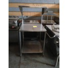 "30""x31""x59"" STAINLESS STEEL CART $150"
