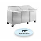 KOOL-IT KSTM-72-3 SANDWICH PREP TABLE