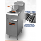 SIERRA SRF-35/40 TUBE FIRED GAS FRYER